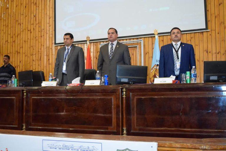 كلية الطب البيطري بسوهاج تفتتح مؤتمرها السنوي الاول