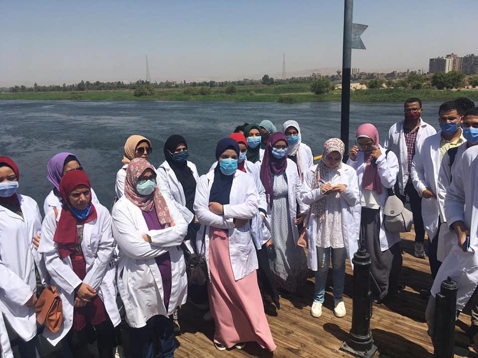 90 طالب وطالبة بزراعة سوهاج يشاركون في التدريب الصيفي بشركة مياه الشرب