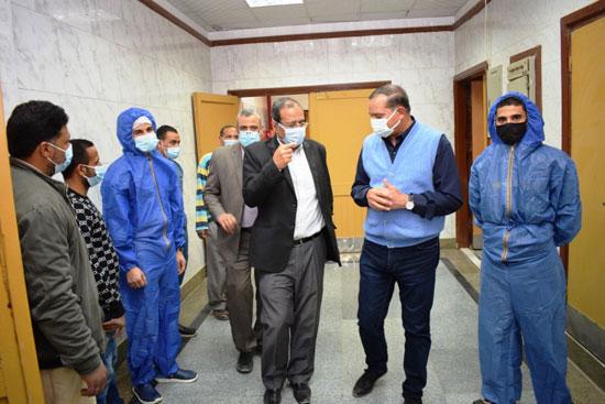بدء تشغيل مستشفى للعزل بجامعة سوهاج لمواجهة حالات كورونا بالمحافظة