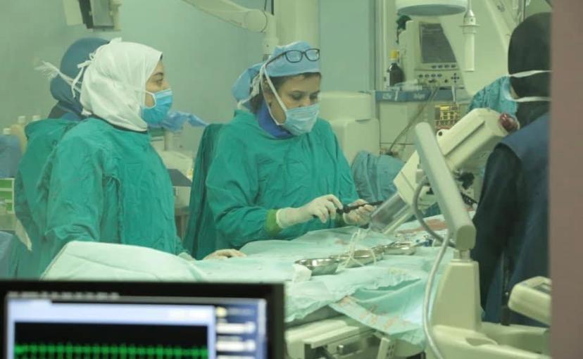 الخميس القادم مستشفي سوهاج الجامعي تستضيف الدكتوره امل السيسي لاجراء عمليات قسطرة قلب علاجية للاطفال