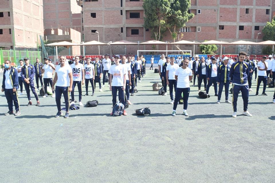 معسكر التربية الرياضية بجامعة سوهاج ينطلق لخدمة وتنمية المجتمع بمشاركة ٩٥٤ طالب وطالبة