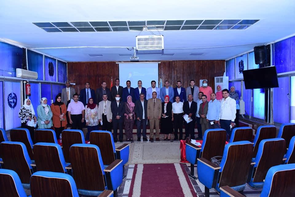 مركز ضمان الجودة بجامعة سوهاج يعقد اجتماعاً لاستعراض انشطته السنوية وخطته المستقبلية