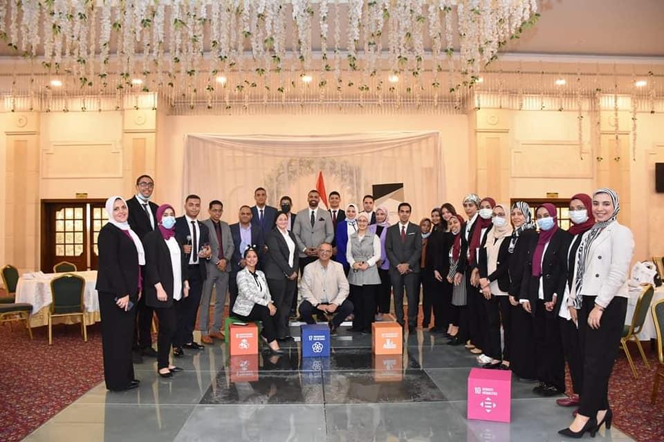 جامعة سوهاج تشارك بمبادرة سفراء التنمية المستدامة